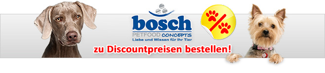 bosch hundefutter zu discountpreisen bei. Black Bedroom Furniture Sets. Home Design Ideas