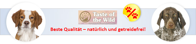 Taste of the Wild Hundefutter