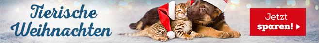 Tierische Weihnachten mit festlichen Preishits