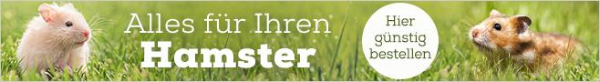 Hamsterfutter & Zubehör für Hamster