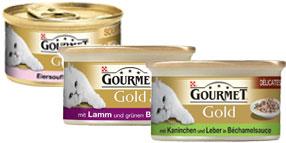Cibo umido per gatti Gourmet Gold