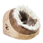 Katzenbetten, Katzenliegen, Katzenhöhlen, Katzenhäuser und Katzendecken