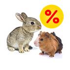 Schnäppchenecke für Kleintiere