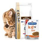 Cibo veterinario e dietetico per gatti